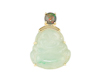 Jadeite (type-A) carving and opal pendant