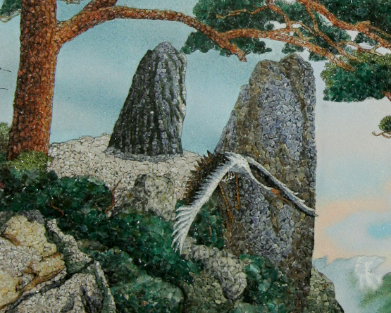 Detail of Scenic Mountain View
