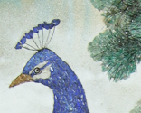 Detail of Peacocks (Symbol of Renewal)