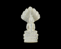 Mother of pearl Buddha
